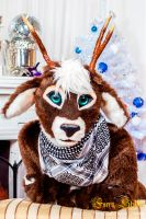 Deer fursuit - Ai (waiting for you) by MiriamBast