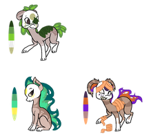 Finnedyr Adopts (14) -CLOSED- by HitMeWithBrokenLeave