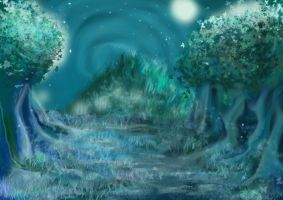 Forest by CubitusRouge
