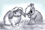 Time and Wind Rabbits by BlueLink