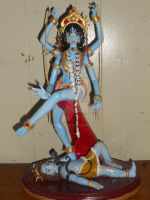 Hand made Kali 14 inch Figure by TheriaRose