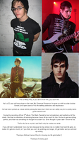 Happy Birthday, Mikey Way:3 by collidewiththesirens
