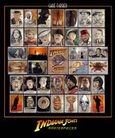 Indiana Jones Masterpieces by GabeFarber