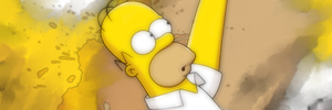 Homer Simpson Signature by me969