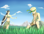 Out in the Grasslands by ThePhantomArts