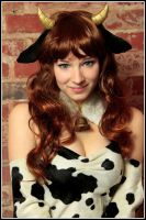 Cow Mikuru by EnjiNight