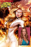 Poppy Montgomery as moonstone by RWhitney75