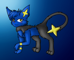 Firelight has evolved into... um... shinx! by Ryusuta