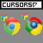 Chrome Cursor Pack by Mangastarr