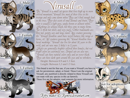 Virusall breed - draw to adopt! by MiraeChaos