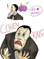 COHEN RAEGS by Plumlinderdog