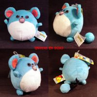 Pokemon Evil Marill ooak plush by Undead-Art