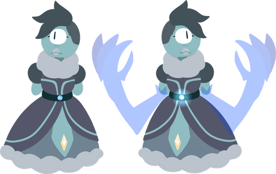Ice Sapphire Adopt by N19HT-0WL