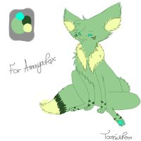 Amayafox Design by ToonieCheckers