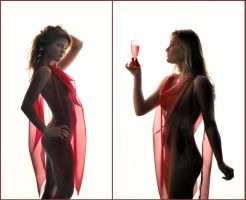 Un verre de rose by endegor