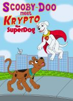 Scooby-Doo meet Krypto the SuperDog by MCsaurus