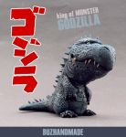 GODZILLA - King of Monsters by buzhandmade