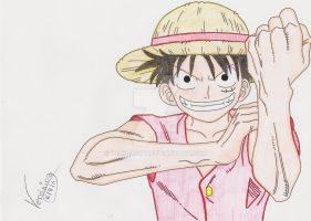 Luffy D.Monkey by Vero-Light