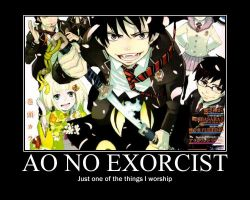 Ao no Exorcist by LOLHichigo