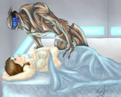 Garrus and Shepard Final by EvieE-Cosplay