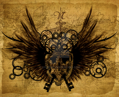 Steampunk wallpaper stage 6 by xFlucht