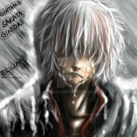 Gintama - Sakata Gintoki - Even heroes cry. by Elilian