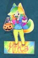 Mika Halloween badge by zirio