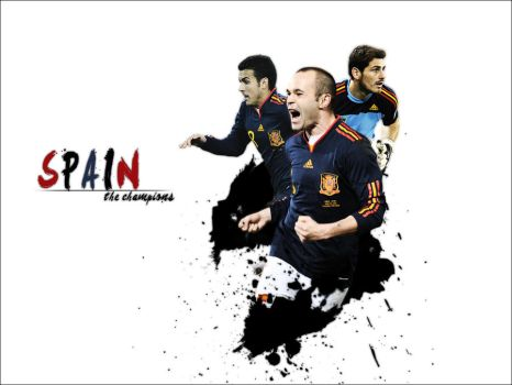 SPAIN - The champions by KazeGM