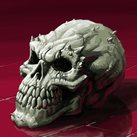 skull by kajinman