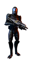Quarian Marksman Soldier by rome123