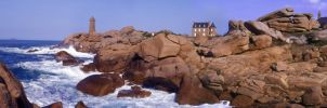 Pink Granite Coast by Danwhitedesigns