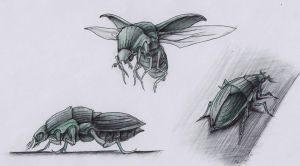 bug by InkOut