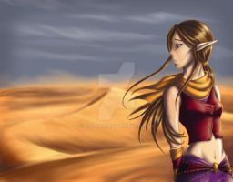 Where Sand Meets Sky by Niraven