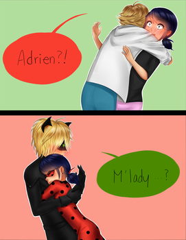 Miraculous hugs by thecocomero