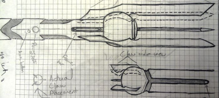Lightsaber Design Roughdraft by dex7491a