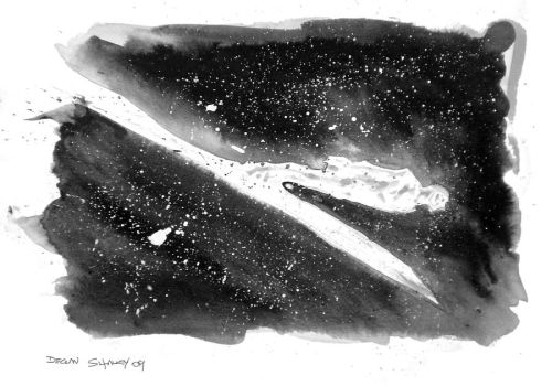 Silver Surfer sketch photo by DeclanShalvey