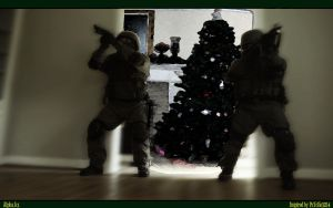 Counterstrike Christmas Combat by melodicnitemare