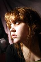 Lighting Contrast Portrait 9 by emothic-stock
