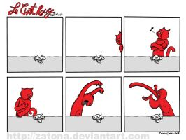 Le chat rouge 1 by Zatona