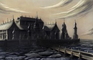 Castle on the Sea by Stoop--Kid