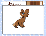 Andrew Ref Sheet {Wyngro} by Geno-Knifeu