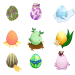 Spring-Themed Hatching Egg Adopts by garnma