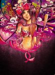 Breast Cancer: Live Life by rianbowart