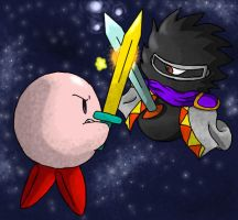 Kirby vs Dark Matter final by Poo7878