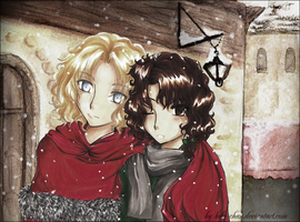 :In Paris - Lestat x Nicolas: by bibi-chan