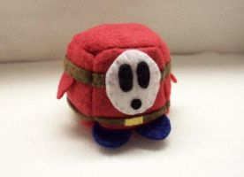 Shyguy Cube Plushie by Cube-lees