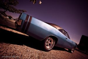 blue 68 charger V by AmericanMuscle