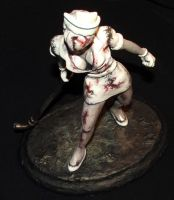 Bubblehead Nurse Sculpture V2 by Meadowknight