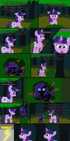 Past Sins: Everfree Discovery P4 by SaturnStar14