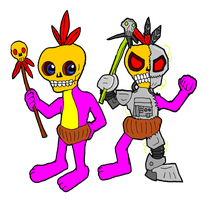 Mumbo and Mingy by mortimermcmirestinks